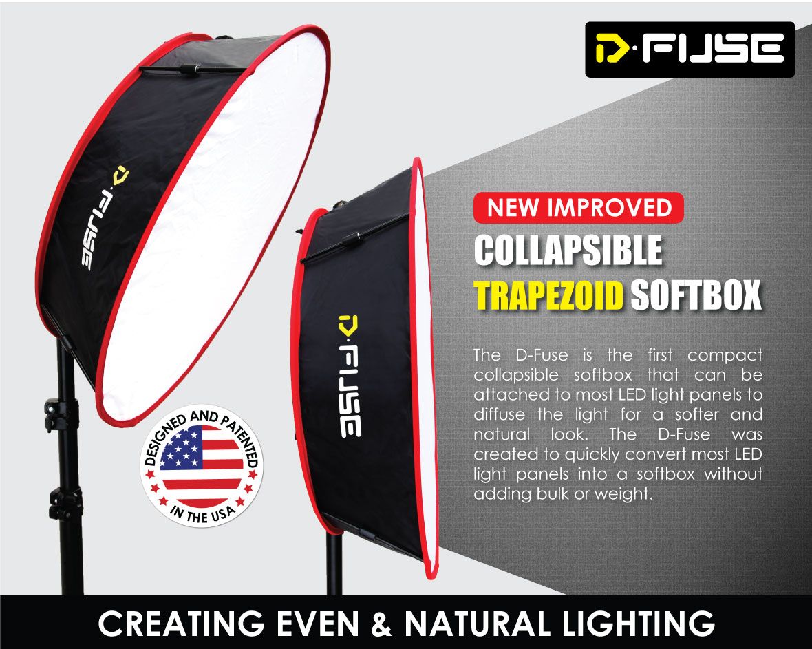 KAMERAR COLLAPSIBLE TRAPEZOID CYLINDER SOFTBOX
