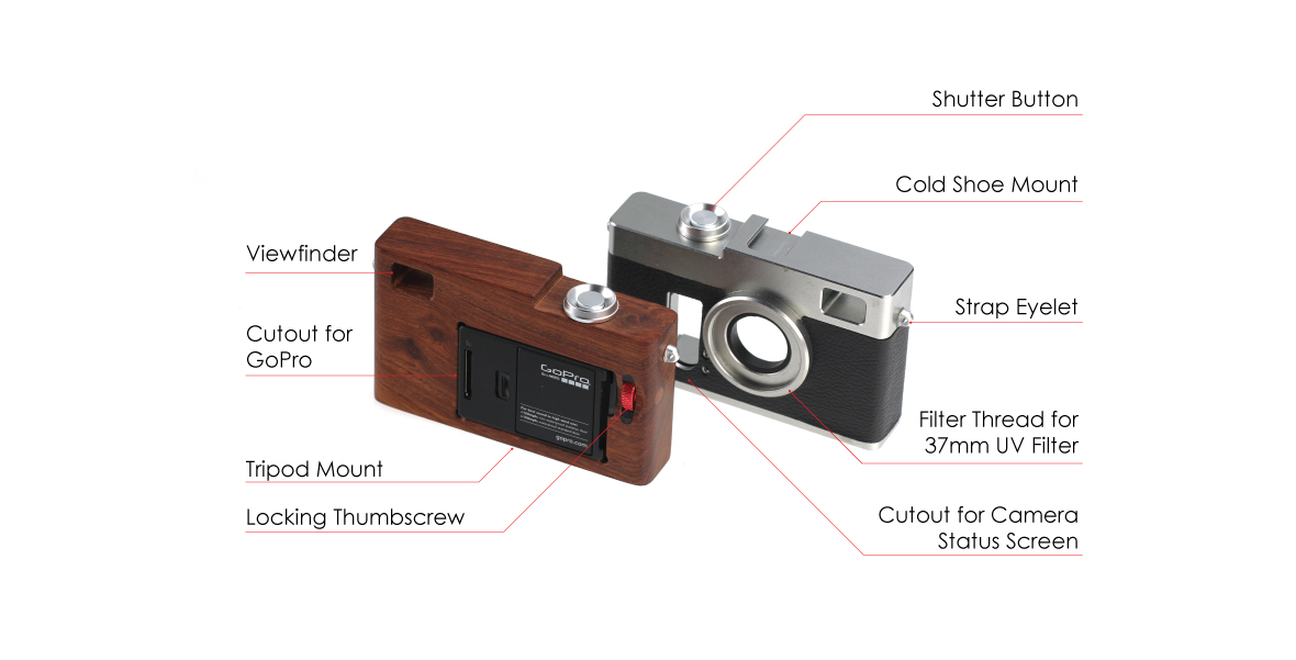 GoPro Rangefinder Cage