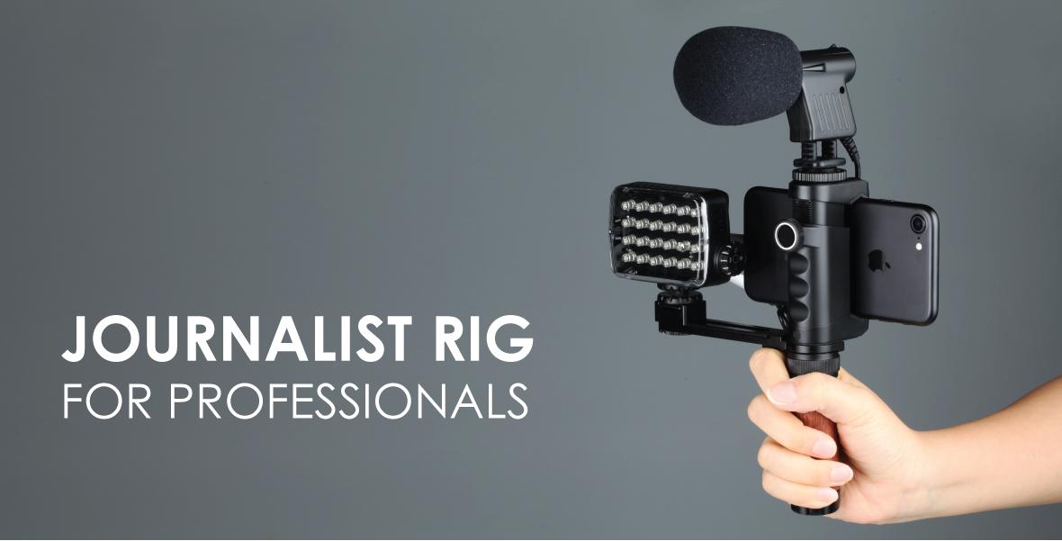 journalist rig