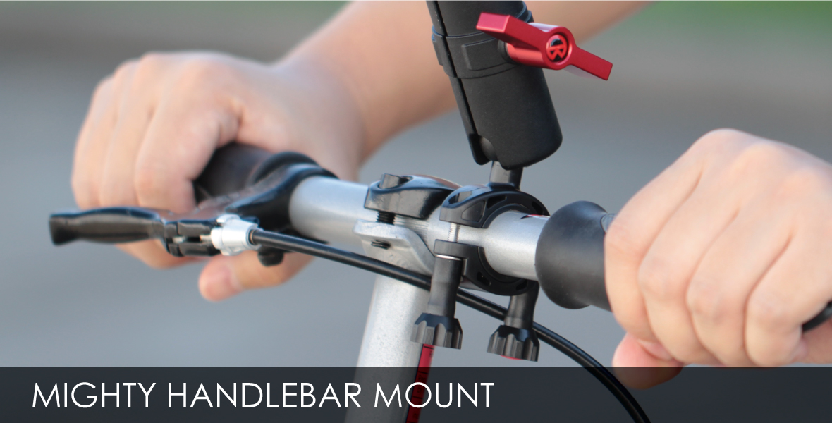 might metal arm handlebar kit