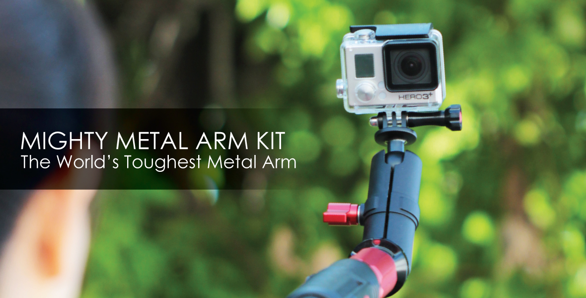 might metal arm kit