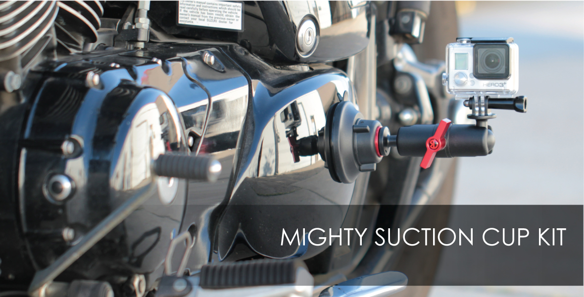 Mighty Metal Arm Suction Cup Kit