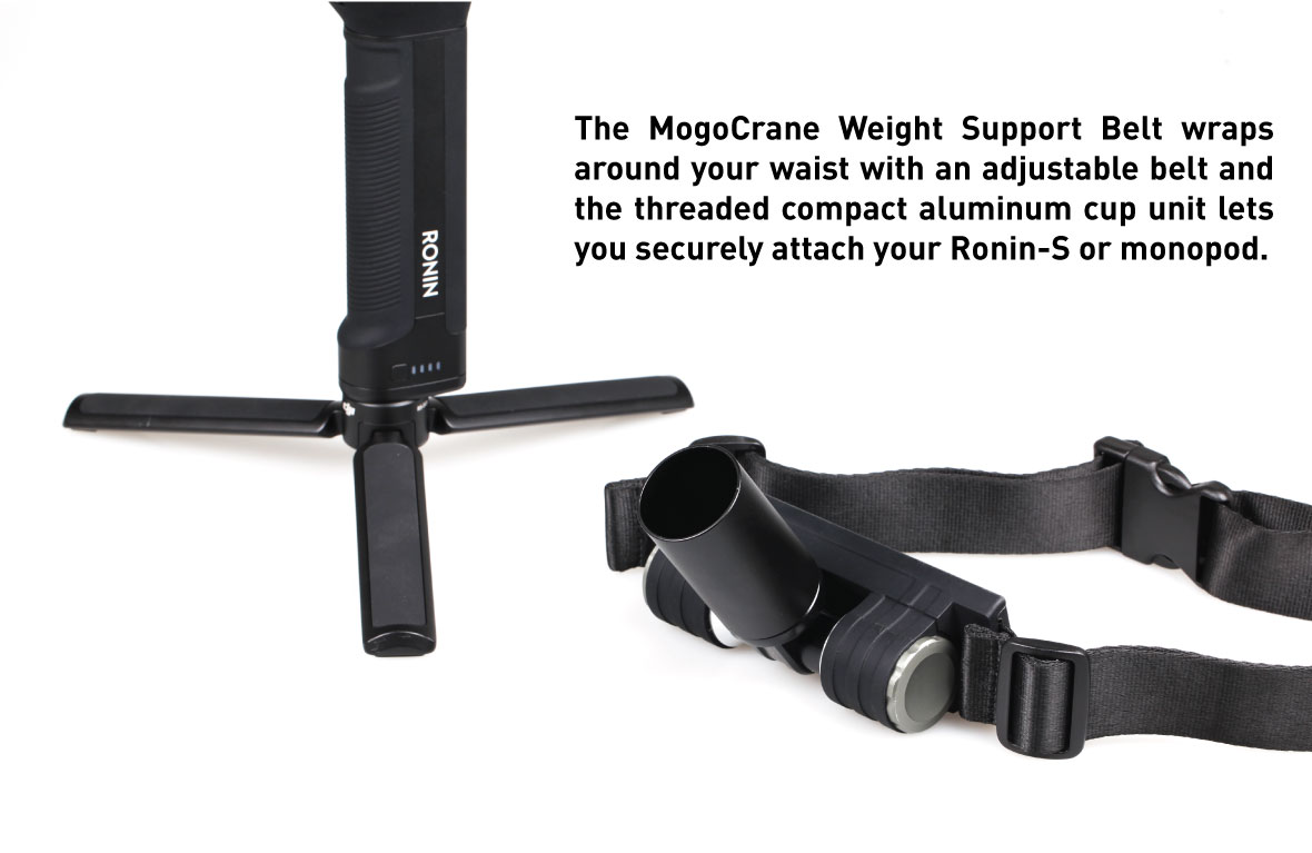 Kamerar MogoCrane Belt Kit, Weight Support for Single Handed Gimbal Stabilizer