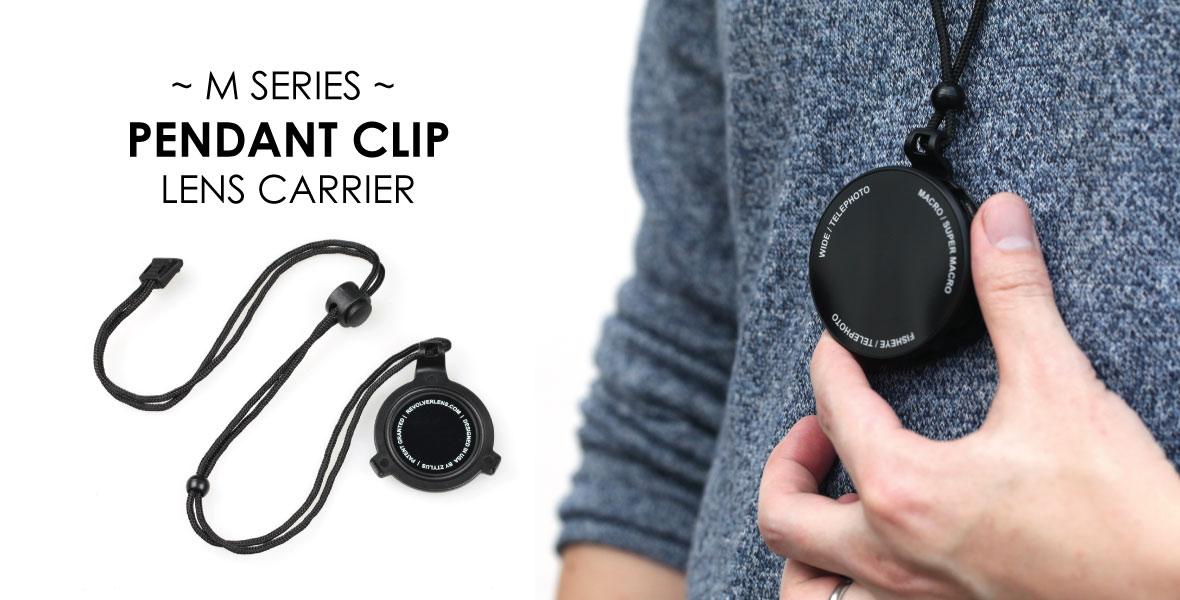M Series Pendant Clip Lens Carrier