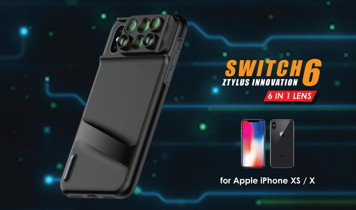 Ztylus switch 6 MKII Kit for iPhone XS / X