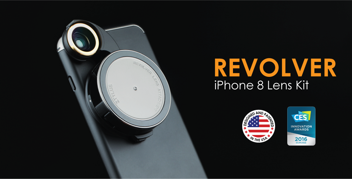 Revolver Lens Kit for iphone 8 Plus