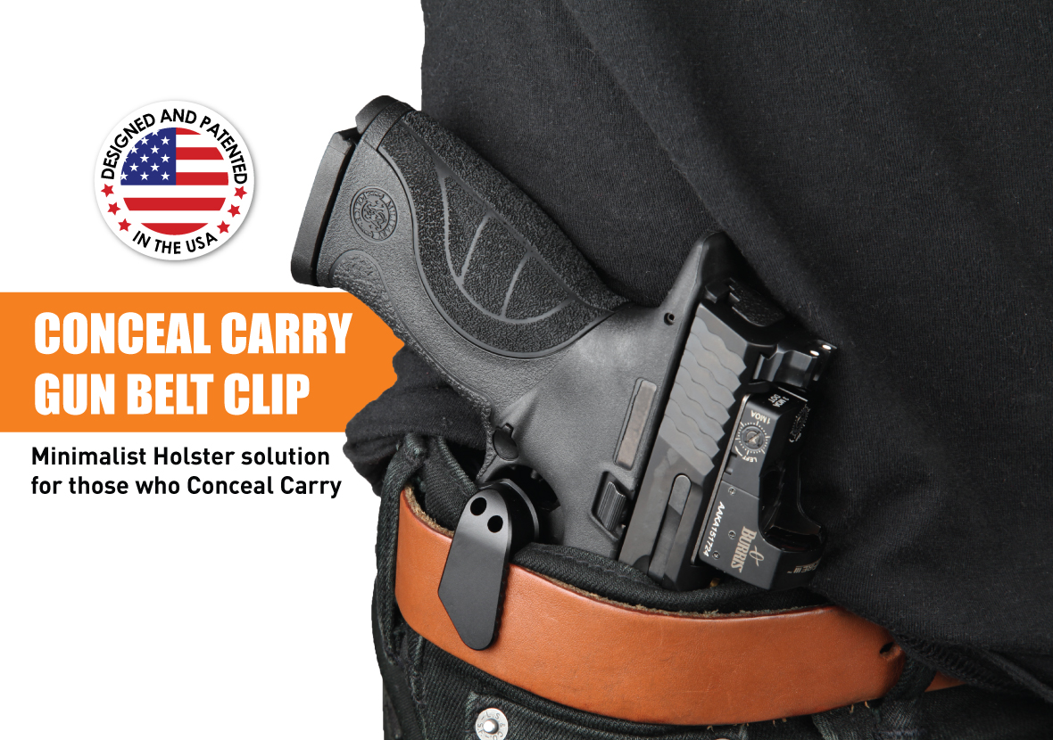 Trigger Guard Protection with Belt Clip