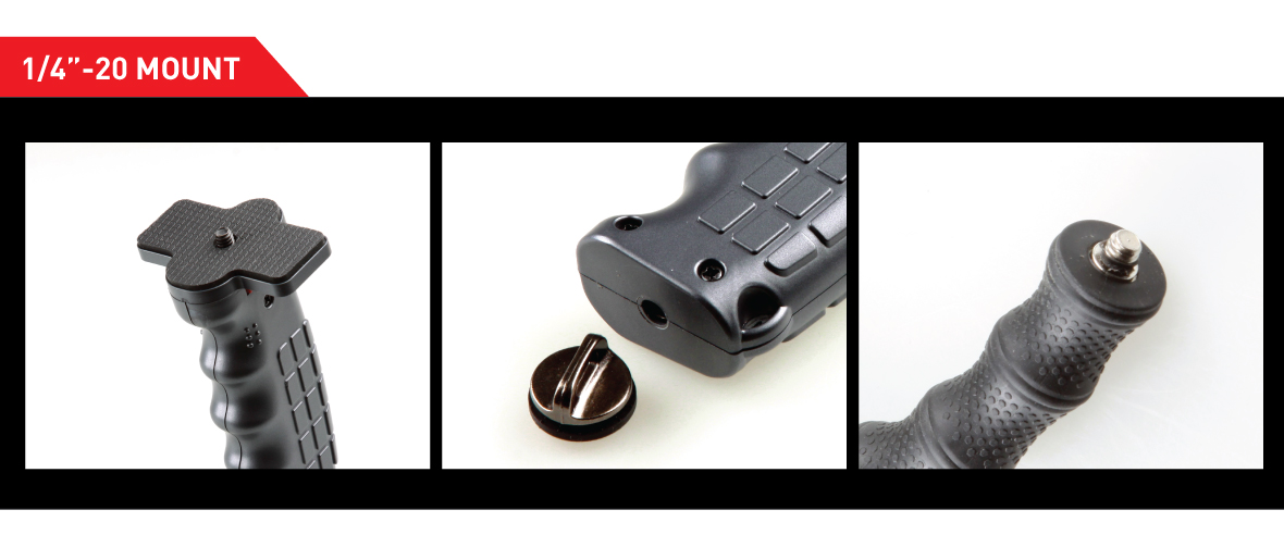 Photography & Cinema Pistol Grip Handle with Standard 1/4 Screw for DSLR Mirrorless Camera, Video Stabilizer Handle